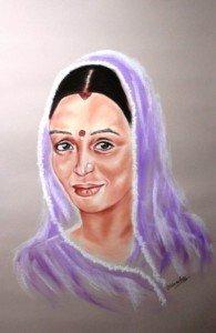 Femme d'Inde
