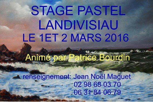 affiche stage 2016