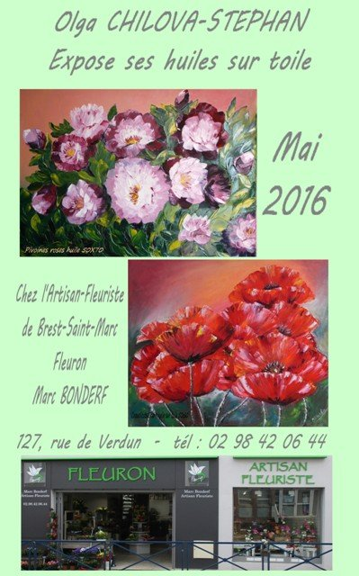 affiche  fleuriste st marc mai 2016 - Redim