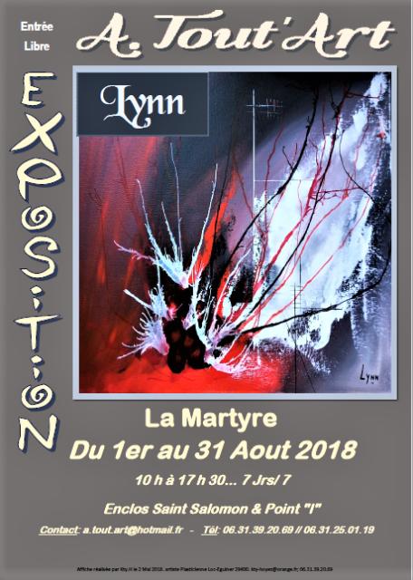 photo de l'affiche pour les r_seaux et journaux Lynn La Martyre Ao_t 2018